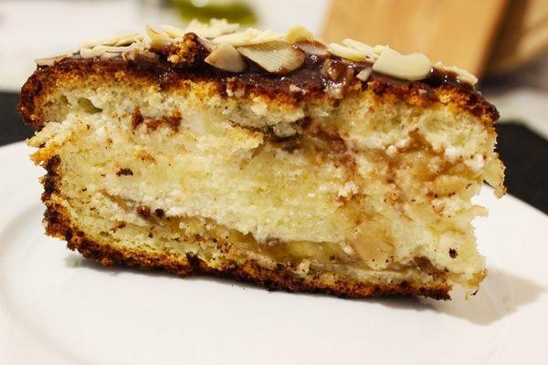 Банановый торт со сливочным кремом и орехами #TheNaturalColonCleanse