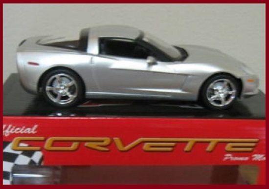 2010 Corvette Coupe Official Corvette Promo Model Silver Color Scale 1/25 #AMT