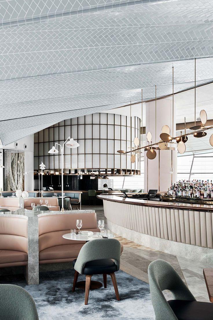 Restaurants always need a luxurious furniture. Discover more luxurious interior design details at luxxu.net