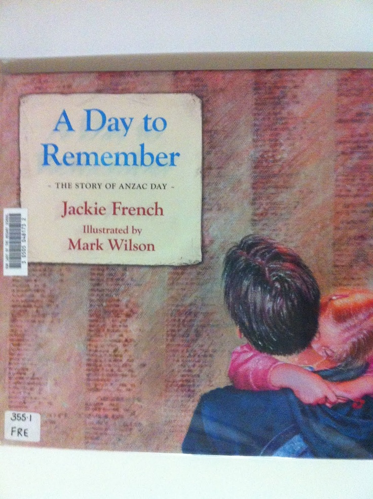 A Day to Remember - ANZAC Day book by Jackie French