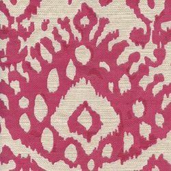 Tiburon Lipstick Pink Ikat Fabric - Drapery Fabrics at Buy Fabrics