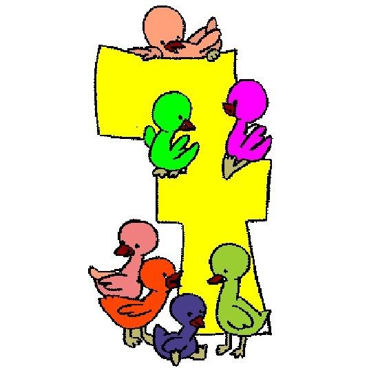 Yedi yavru ördek nerede? 7 rakamının etrafındalar. http://www.boyamaoyunlari.gen.tr/boya/900/Yedi-Yavru-Ordek.html