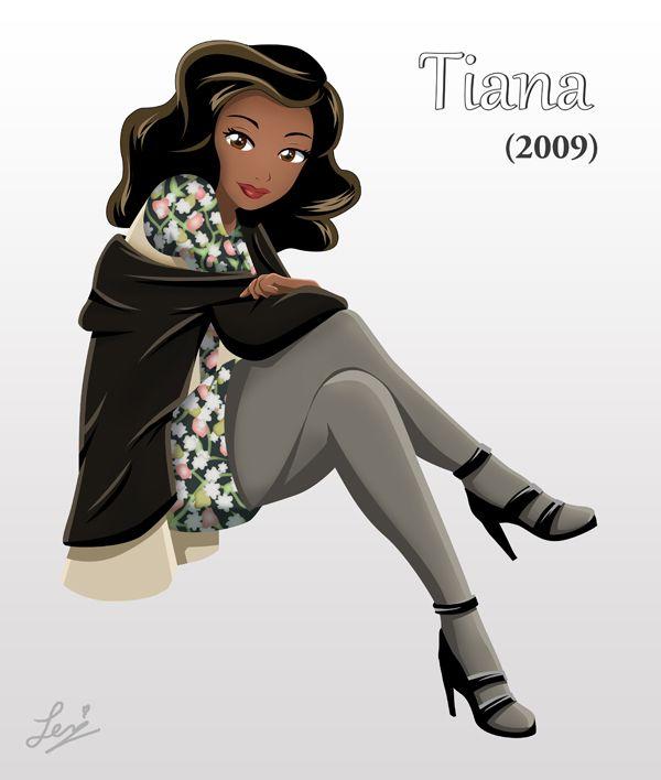 Princess Tiana Face: Circa 2009 By Tachiban18.deviantart.com On
