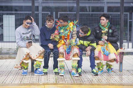 Download - Badajoz Carnival 2016. San Roque parade — Stock Image #98829962