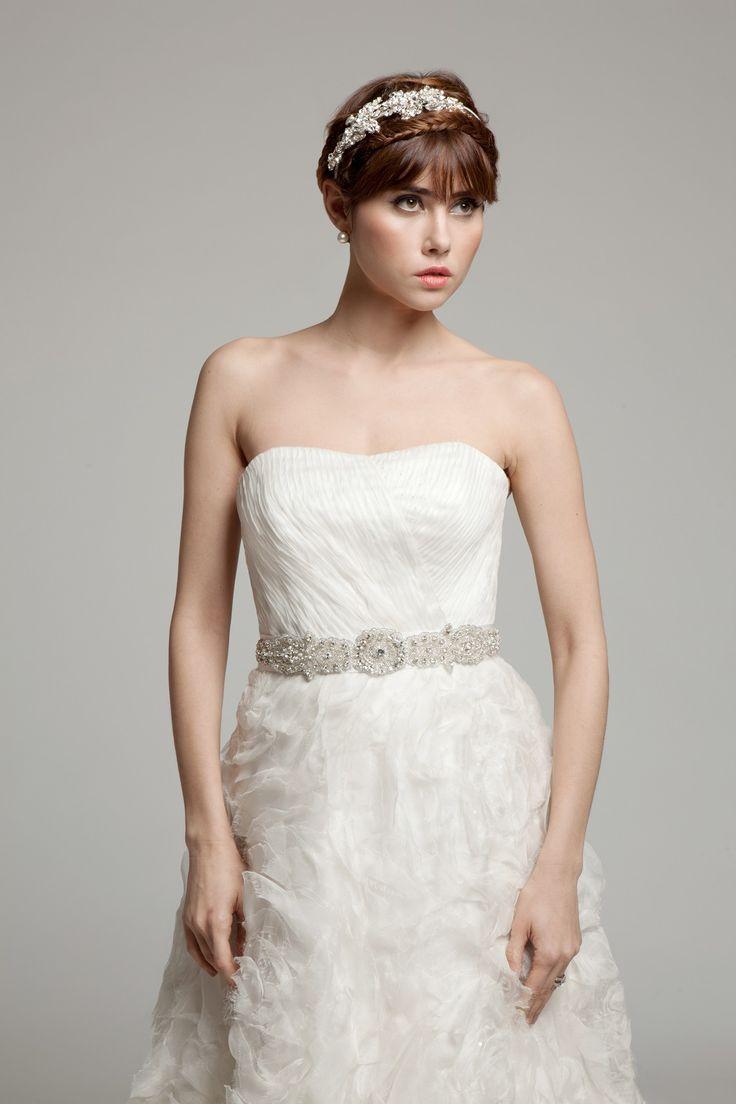 Melanie Potro Bridal Couture - Rose dress made from Silk Organza
