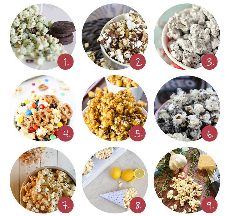 Popcorn recepten