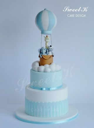 A special cake for a baby birth :)
