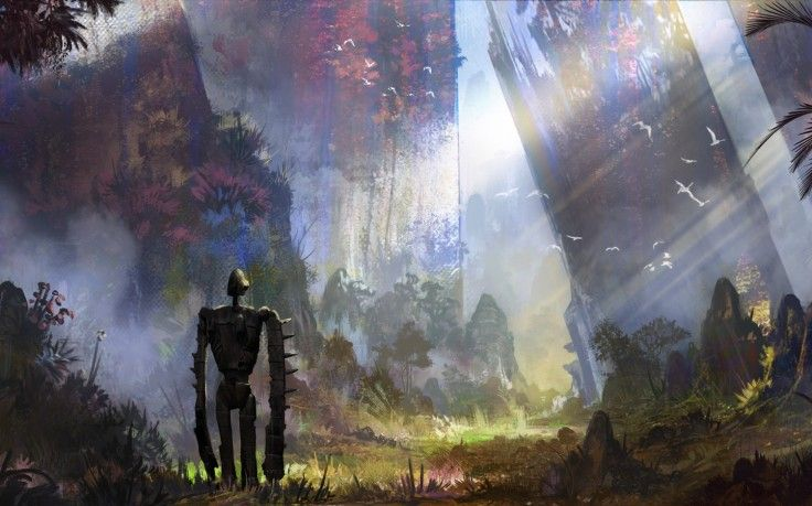 Artwork Concept Art Castle In The Sky Robot Anime