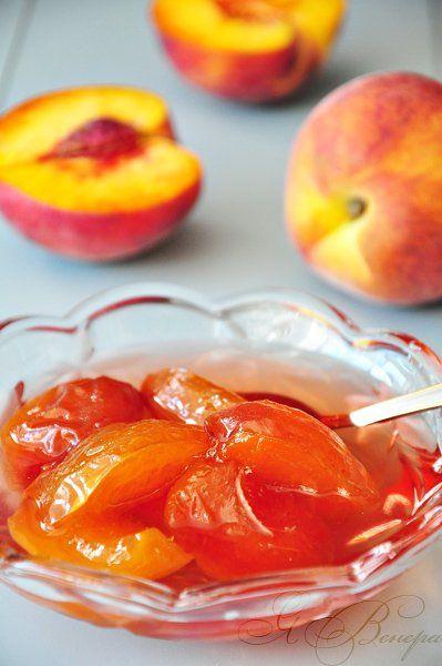 Обычное персиковое варенье