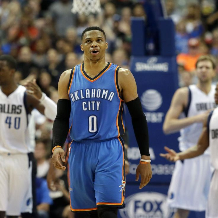 Russell Westbrook 's dream 2016-17 season arguably hit its apex Wednesday night, as he set an  NBA  record by scoring 57 points in a triple-double, leading the  Oklahoma City Thunder  to a 114-106 overtime win over the  Orlando Magic  at Amway Center...