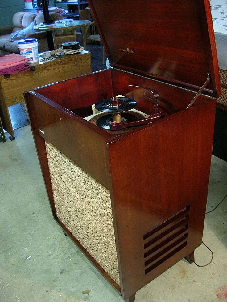 Webcor Ravinia Hi Fi Console Record Player 1955 Record