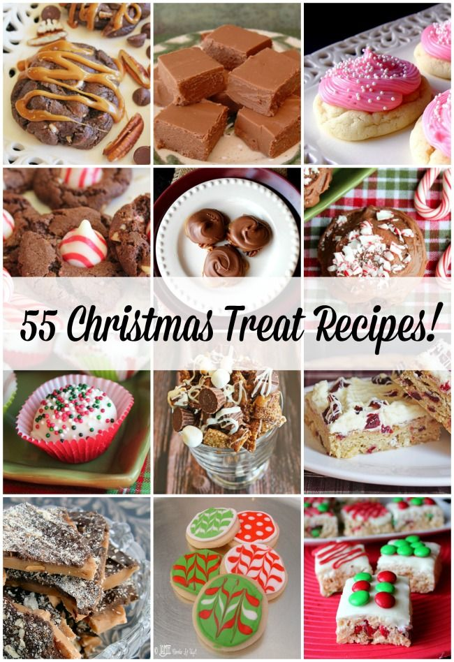 55 Fabulous Christmas Treat Recipes! Jamie Cooks It Up Pinterest