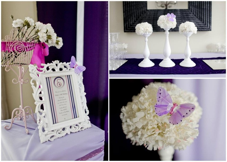 Candle stick centerpieces