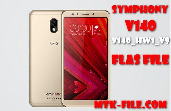 Symphony V140 Flash File Firmware (V140_HW1_V9) 100% Tested Download