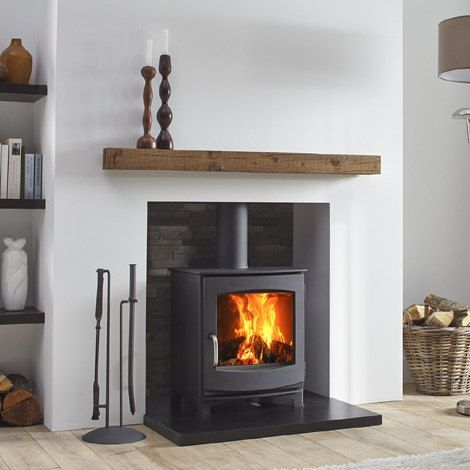 The Dik Geurts Ivar 5 Low is a contemporary and versatile stove. It has a classic wood stove design, with a large viewing window, that is equally at home in modern or period homes. The stove has a solid cast iron door with a removeable handle, making it is easy to clean and maintain.Ivar Low can be installed as a freestanding wood or multi fuel stove. It is also possible to create an inglenook chimney opening that will accommodate this solid, dependable woodburner. Features- Wood or...
