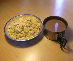 Backpacking Dinner - Couscous