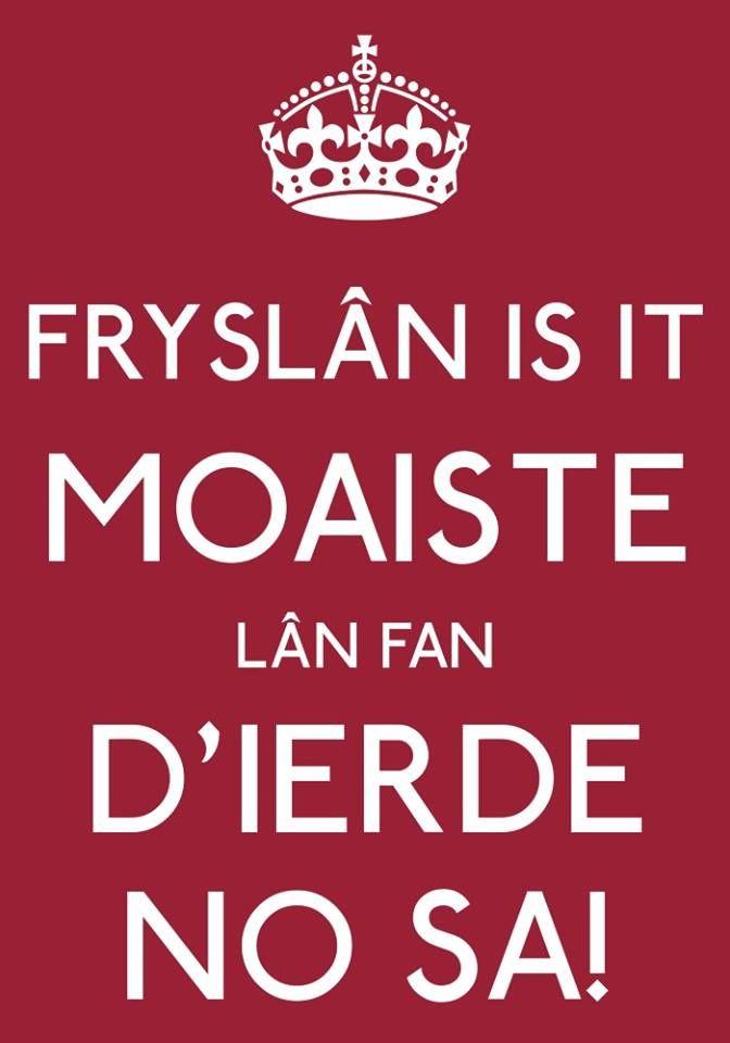 Friesland, het mooiste land ter wereld