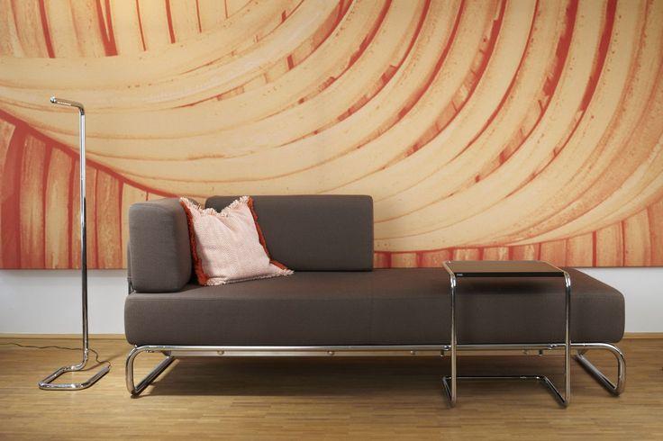 Sessel, Liege, Chaiselongue, Sofa: Das variable Programm S 5000 - THONET-Möbel - Stühle, Tische, Sessel und Sofas, Design-Klassiker aus Bugholz und Stahlrohr
