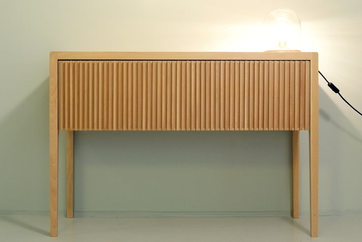 Sideboard in beech wood