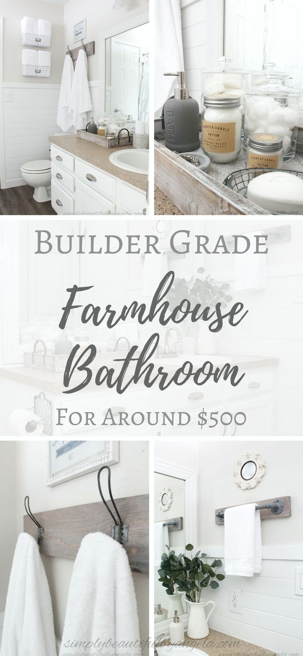Simply Beautiful Bathrooms: Best 25+ Builder Grade Ideas On Pinterest
