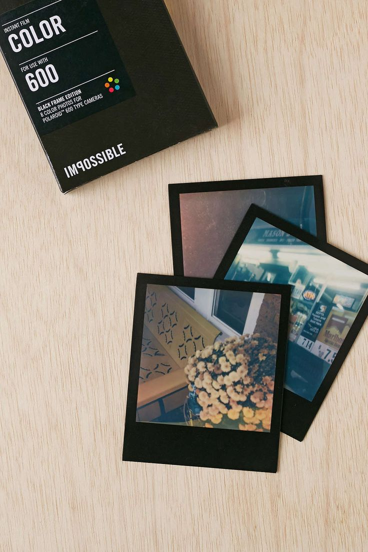 Impossible Color Shade Polaroid 600 Instant Film - Urban Outfitters