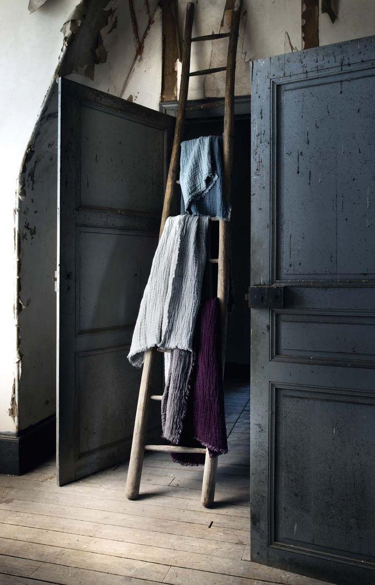 plaids en lin gaufr lav le monde sauvage collection automne hiver 2015 2016 pinterest. Black Bedroom Furniture Sets. Home Design Ideas