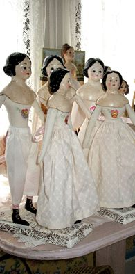 Christine LeFever   Maker of Dolls in Early Styles