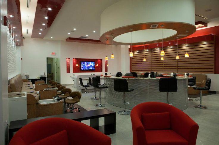 Best nail salon interior design pierre jean baptiste interiors nail bar interior design 2 - Bar salon design ...