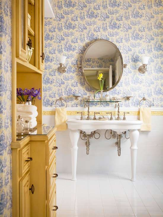 Navy amp yellow bathroom on pinterest yellow bathrooms yellow and