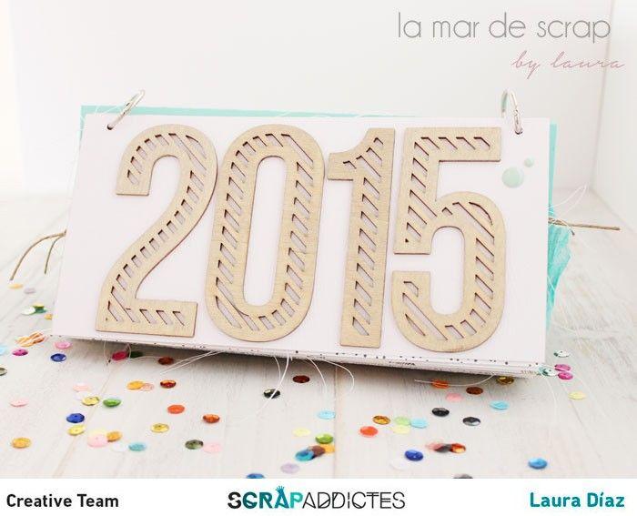La Mar de Scrap: Calendario 2015