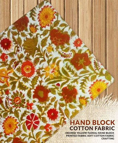 Hand Block Cotton Fabric   #cotton handblock #cotton #fabric #cottonsuits #cottondupatta #bagru #handblock #prints #handblock printed #handblock fabrics #everydayapparel
