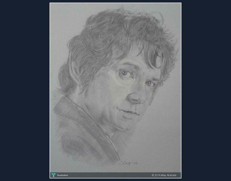 BILBO #Creative #Art #Sketching @Touchtalent.com.com