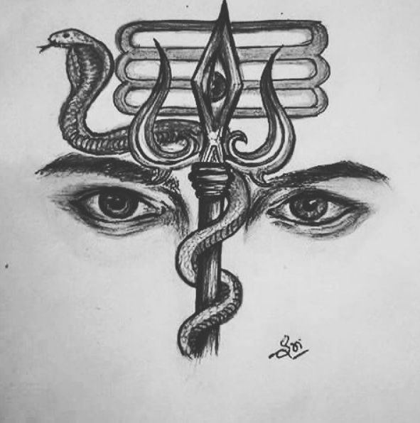 17 Best Images About Shiva Tattoo On Pinterest