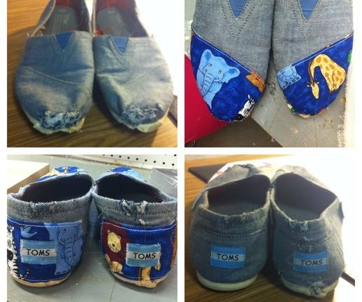 How to Fix Ripped/old Toms