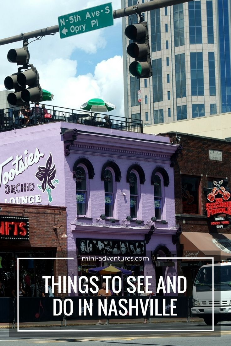 If you're visiting Music City USA, Nashville, here are some things to do!