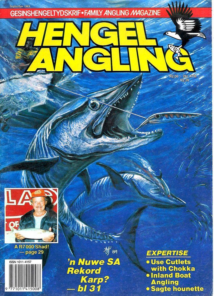 Pastel illustration for fishing magazine by Tony Fredriksson