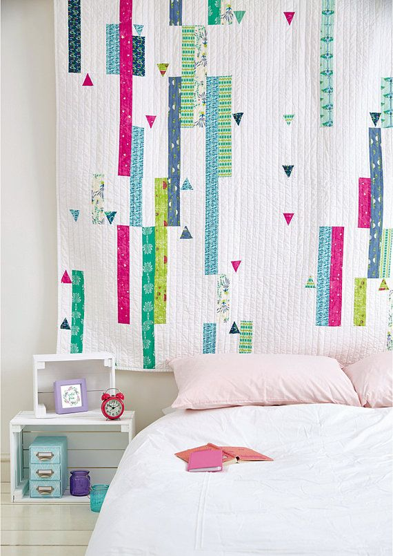 Quilt PDF pattern download Color Splash
