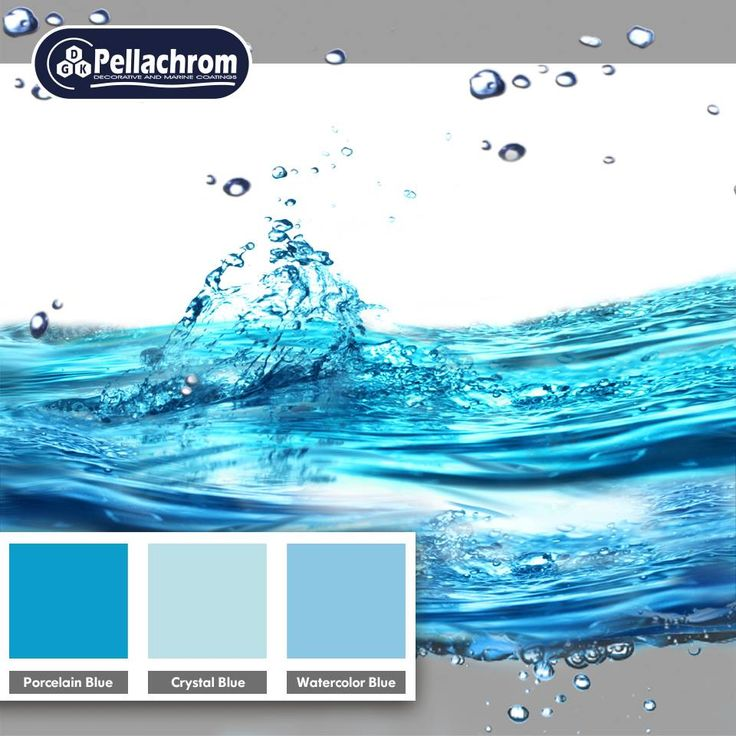 blue water color combination paint blue