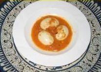 Sambal goreng telor (eieren in sambalsaus