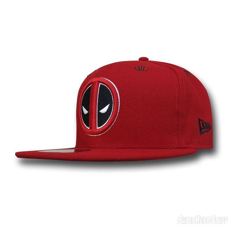 Deadpool Symbol Stargazer 59Fifty Hat new era cap marvel apparel