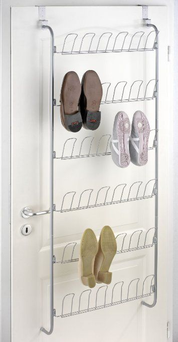 Wenko 4340030100, Scarpiera da porta, capienza: 18 paia di scarpe