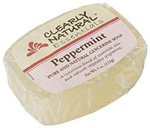 Clearly Natural Soap Bar Glyc Peppermint Review