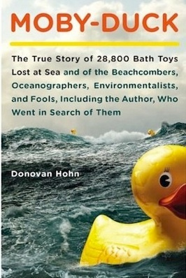 The problem of plastic DOES NOT GO AWAY. Just like diamond plastics are forever.Worth Reading, Book Worth, Donovan Hohn, Bath Toys, 28 800 Bath, 28800, Moby Ducks, Toys Lost, True Stories