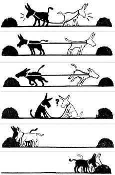 Collaborer et influencer au sein d'une structure matricielle : la métaphore des 2 ânes | Ressources et outils pour être performant et épanoui au travail