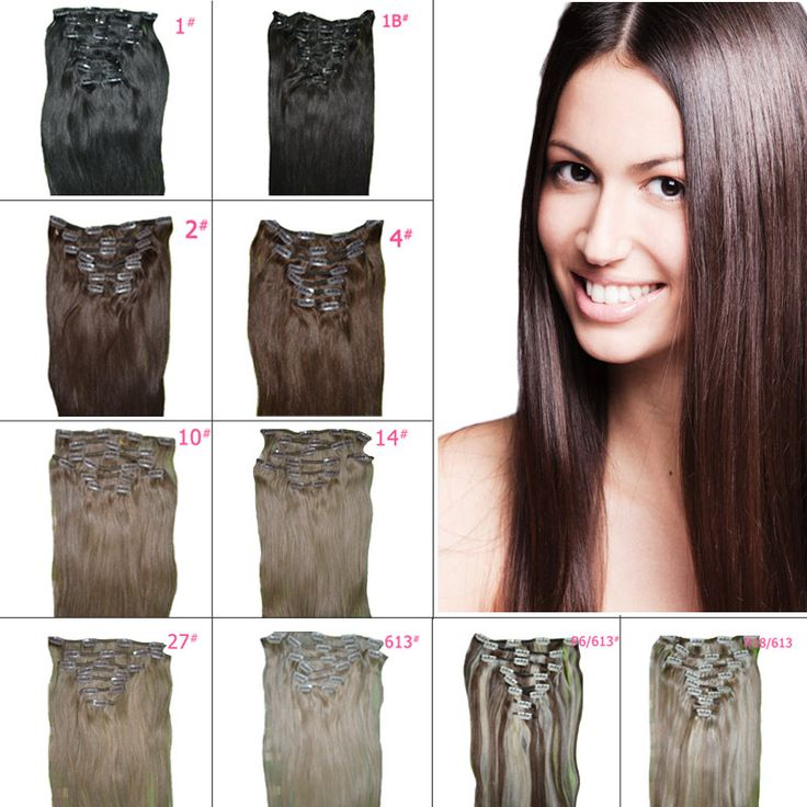 25 unique clip in ponytail ideas on pinterest curly ponytail metal clip free shipping color 15 inch 8 piecesset straight clip in natural hair pmusecretfo Choice Image