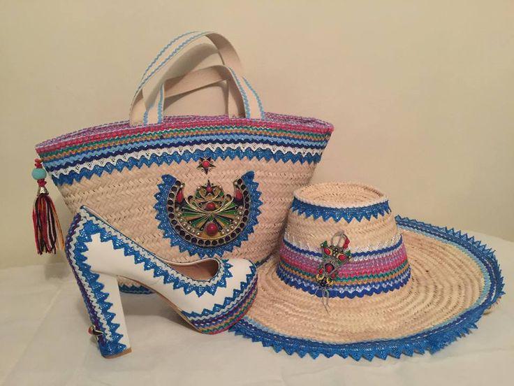Couffin, Chapeau et chaussure à talon ~berbère~