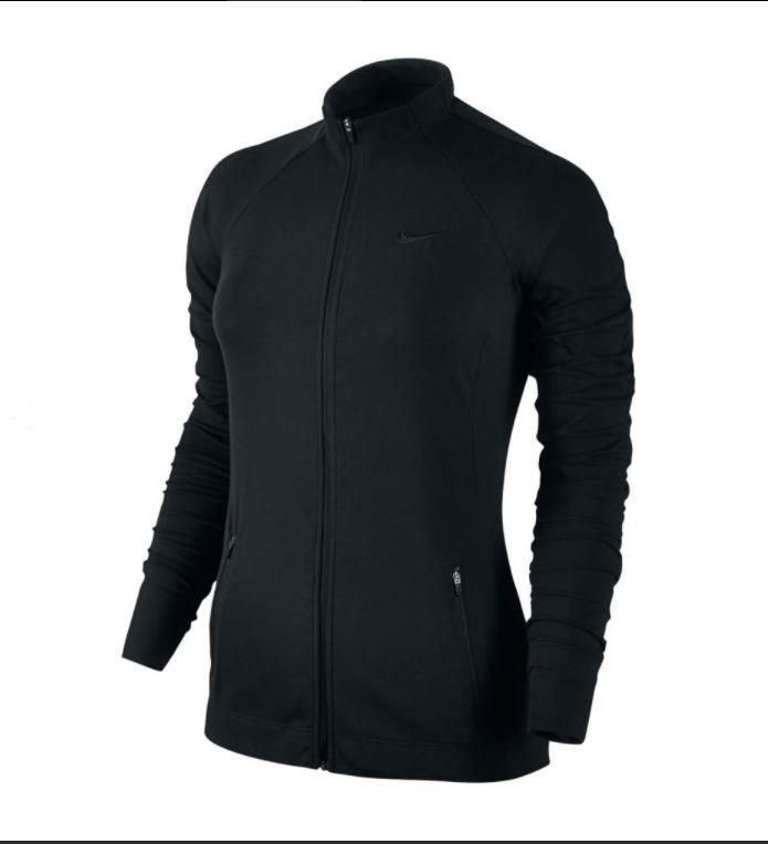 Nike Womens Black DriFIT FullZip Stay Warm Training Jacket S or M 904302-010   65  Nike  AthleticJackets 3f0f056cadc