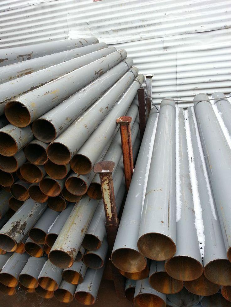 "Steel Round Pipe 6 5 8"" O D x 9 GA"" x 24"" Pipe Ballard | eBay"