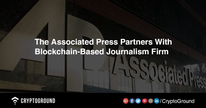 The Associatedpress Ap News Agency Has Inked A Content Licensing Partnership With Blockchain Based Startup Civil Acco Blockchain Cryptocurrency Start Up