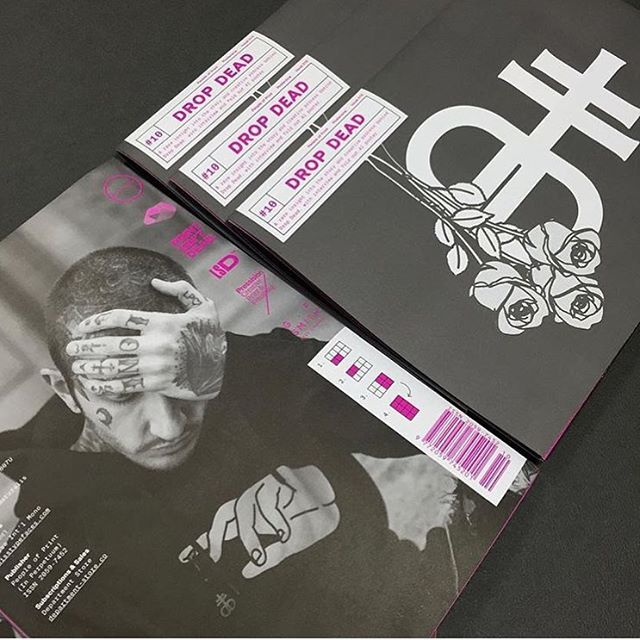 Get your copy of Posterzine Issue 10 @dropdeadofficial from our @deptstoreldn www.poprnt.pl/PZine